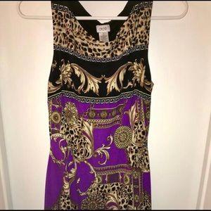 Cache Fitted Mini Dress